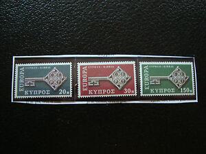 Zypern-Briefmarke-Yvert-Und-Tellier-N-299-A-301-N-A22-Briefmarke-Cyprus