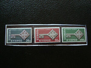 Cyprus-Stamp-Yvert-and-Tellier-N-299-A-301-N-A22-Stamp-Cyprus