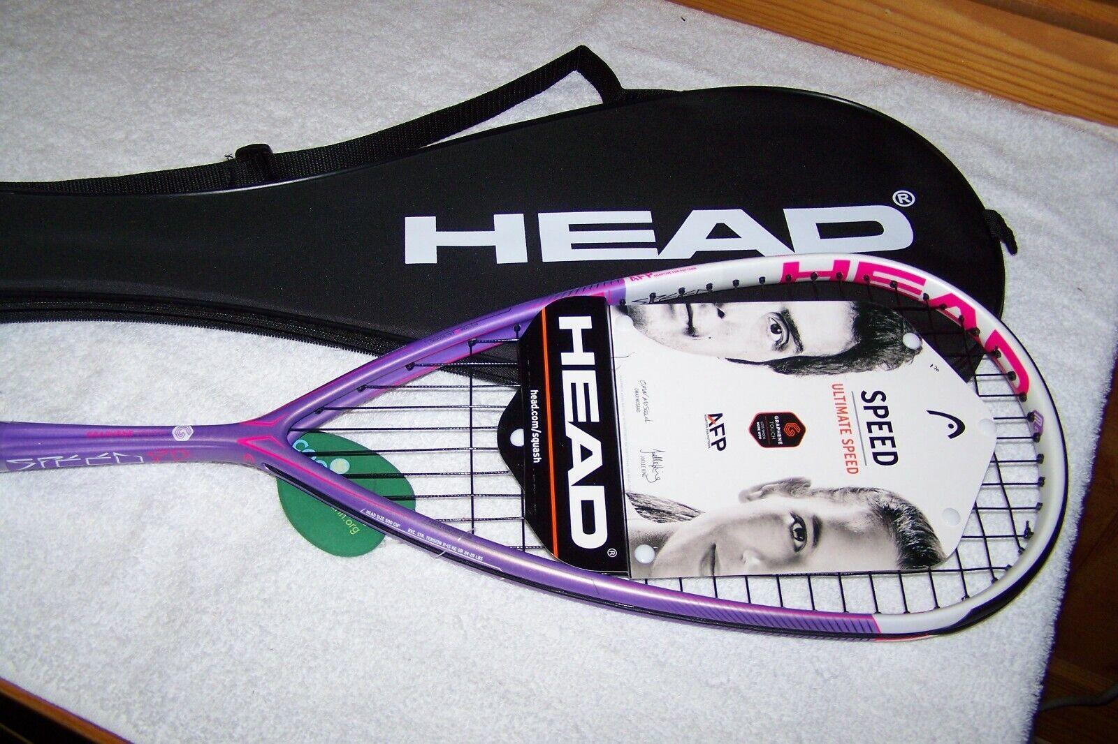 Nueva Marca Head Graphene Velocidad Touch 120L Squash Raqueta