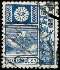 Scott # 175 - 1922 - ' Mt. Fuji '; Granite Paper, Old Die 19mmx22.5mm