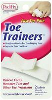 2 Pack Pedi-smart Toe Trainers Splint Problem Toes 2 Pieces Each By Pedifix