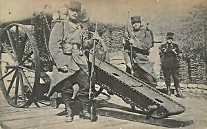 AUSTRIAN-ARTILLERY-SOLDIERS-WW1-MILITARY-PHOTO-POSTCARD