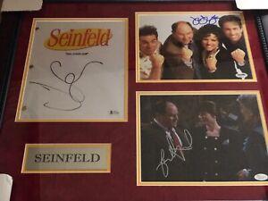 Jerry-Seinfeld-Signed-Photo-Julia-Louis-Dreyfus-Jason-Alexander-Seinfeld-JSA-PSA
