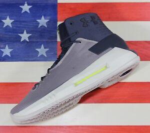 2312faafd4f Under Armour SAMPLE UA Drive 4 Basketball Shoes Grey Tan  1298309 ...