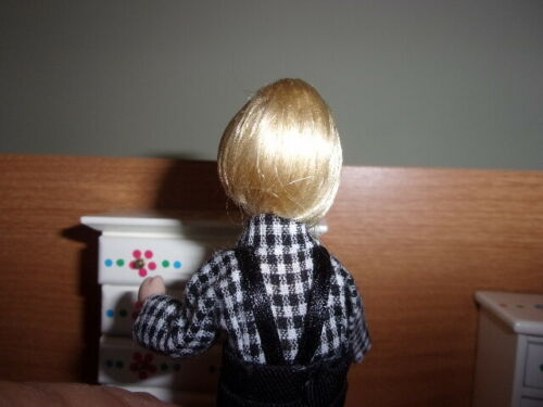 PORCELAIN  COUNTRY BOY POSEABLE BLOND