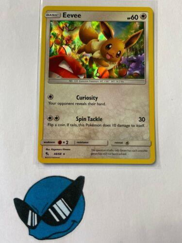 Pokemon TCG Eevee 48//68 Holo Hidden Fates