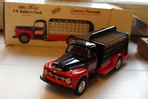 Ford F6 1951 Camion Plateau Porte Bouteilles Nitro Cola