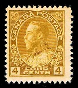CANADA #110 GEORGE V DEFINITIVE ISSUE OF 1922 MOGPH - FINE - $47.50 (ESP#5679)