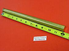 34 C360 Brass Solid Round Rod 12 Long New Lathe Bar Stock 750 12 Hard