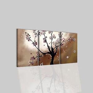 Quadri moderni astratti dipinti a mano su tela marrone for Quadri moderni astratti dipinti a mano