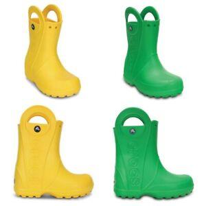 Crocs-Handle-It-Kids-Rain-Wellies-Boot-Summer-Wellington-Boys-Shoes