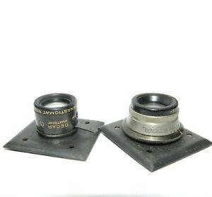 Federal-Anastigmat-lens-3-5-034-Decar-lens-no-1430-and-1425
