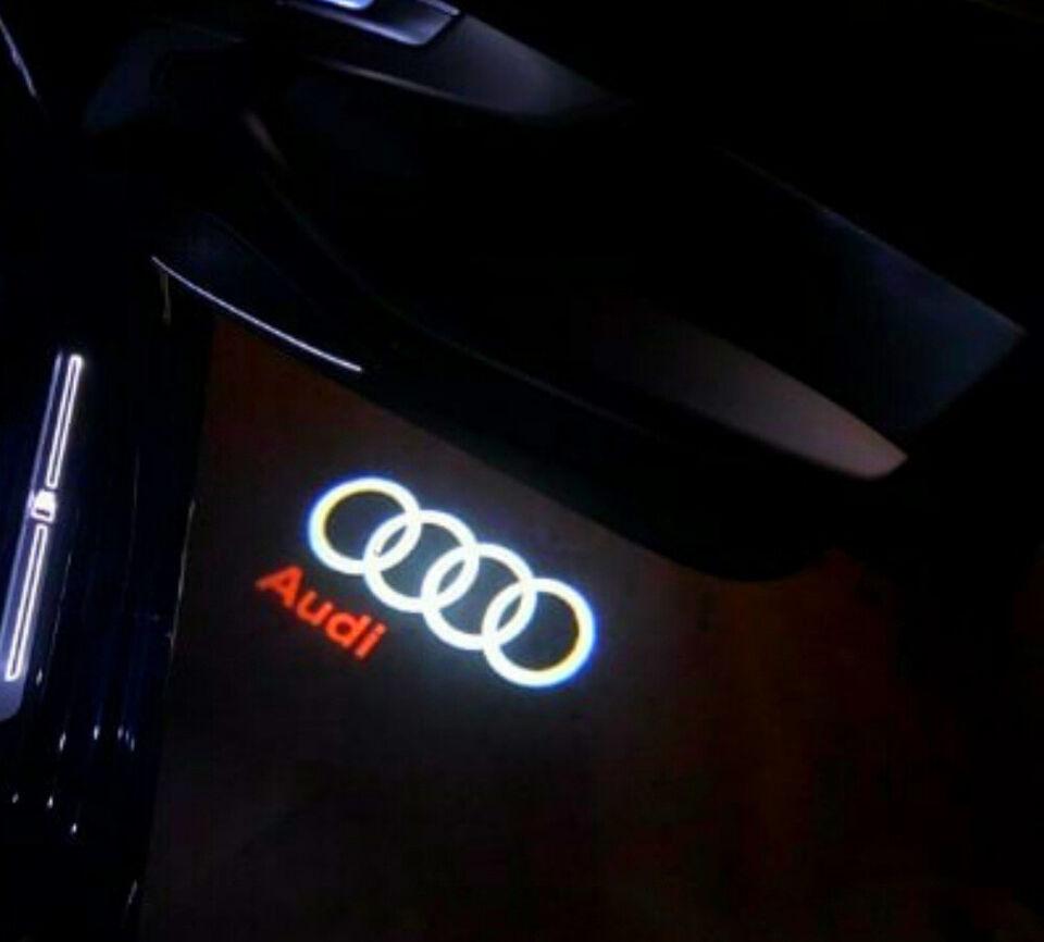 Audi Led Dørprojektor Lys Ledlys Audi Led Dør L...