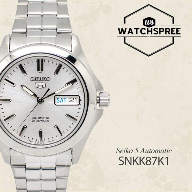 Seiko 5 Automatic Watch SNKK87K1 AU FAST & FREE