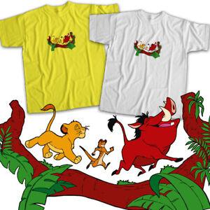 Disney-Lion-King-Simba-Timon-Pumbaa-Best-Friend-Hakuna-Matata-Unisex-Tee-T-Shirt