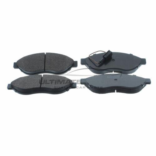 CITROEN Relay Van 250 2006-2012 2.2 3.0 KIT PASTIGLIE FRENO ANTERIORE W169-H62-T19.2