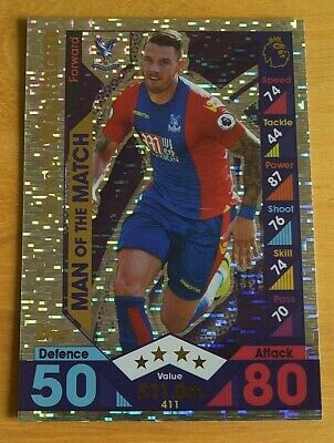 #411 Connor wickham-Man of the match Match ATTAX 2016//17 premier League