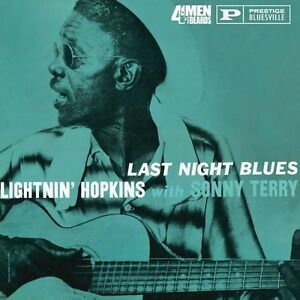 Lightnin-Hopkins-Sonny-Terry-Last-Night-Blues-New-Vinyl-LP-180-Gram