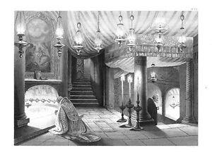 PalÄstina**bethlehem**geburtskirche**unterirdische Kapelle**stahlstich**1850** Weich Und Rutschhemmend Asien Antiquitäten & Kunst
