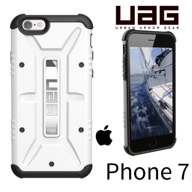 Urban Armor Gear (UAG) Composite Case iPhone 7 7S   WHITE WEIß