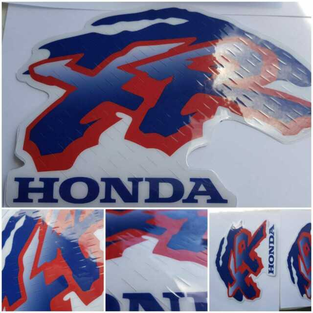 XR100R XR100 GAS Tank decals  Stickers graphics 1998 FREE SHIPPING Honda Xr 100