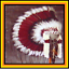 Genuine-Native-American-Navajo-Indian-Headdress-36-inch-SACRED-MESA-Burgundy