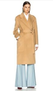 34b1c5249264 NEW Acne Studios Carice Belted Double Wool   Cashmere Coat - Camel ...