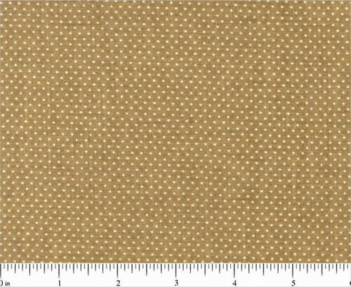 MINI DOTS 100/% COTTON FABRIC SANTEE PRINT WORK MANY COLORWAYS SIZE YOUR CHOICE