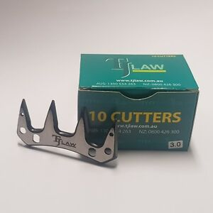 TJ Law/JJ Hand Shearing Cutters (One box containing 10 cutters)