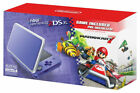 Nintendo 2DS XL Mario Kart 7 Console Bundle - Purple/Silver