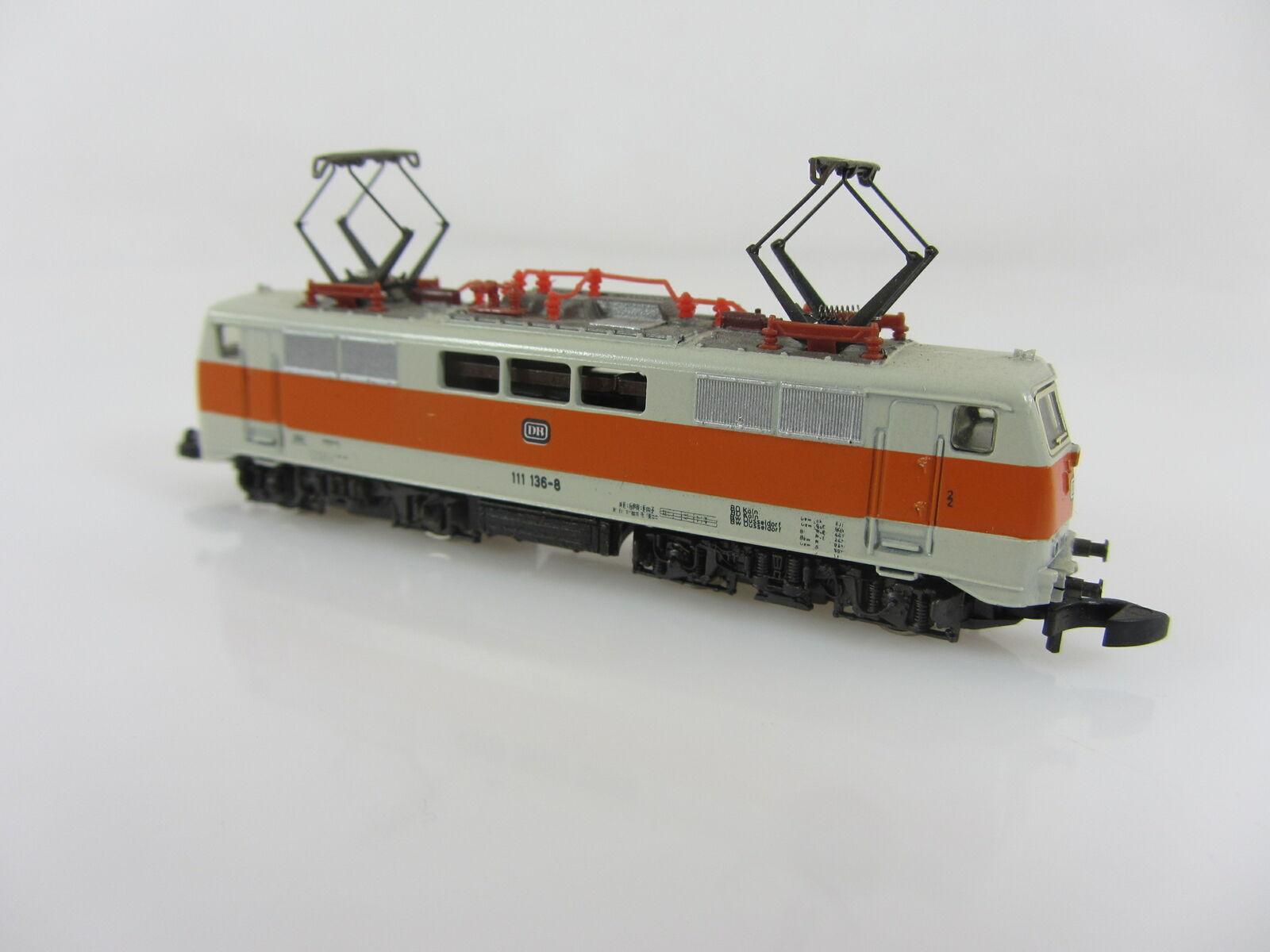 Märklin 8855 BR 111 136-8 e Lok delle DB S-Bahn USATI MA BUONE CONDIZIONI