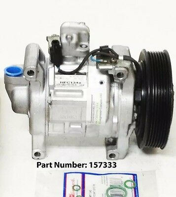 A//C Compressor Fits Honda Accord 08-12 Crosstour 12-15 L4 2.4L 10SR15C 157333