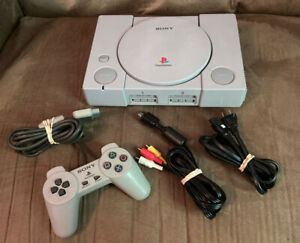 Official Sony PlayStation 1 PS1 Console Complete w Controller! ~ Fast Shipping!