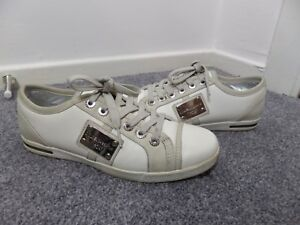 Fab Casual Cuir Chaussures 4 37 Vgc Uk Dolce Gabbana Taille Trainer en rqCxBrIw6