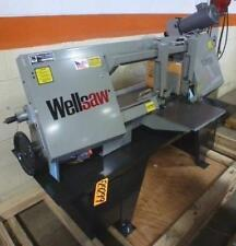 13 X 18 Wellsaw Horizontal Bandsaw No 1318 New
