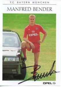 Autogramm-Manfred-Bender-Bayern-Muenchen-1990-1991