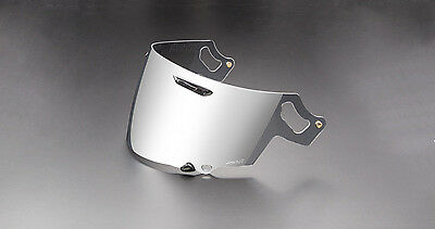 Genuine Arai Corsair-X Signet-X Silver Mirror Visor Face Shield VAS-V