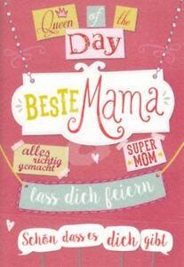 Geburtstagskarte Schreiben Mama.Details Zu Beste Mama Doppelkarte Muttertagskarte Geburtstagskarte Muttertag Spruchkarte