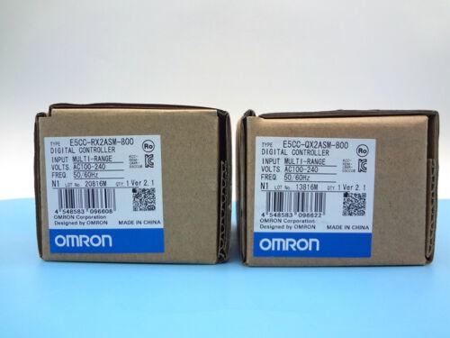 New For Omron Temperature Controller E5CC-QX2ASM-800 90 days warranty FU8