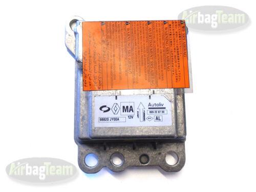 No Crash Data Renault Koleos Airbag ECU Control Module Sensor 98820JY00A