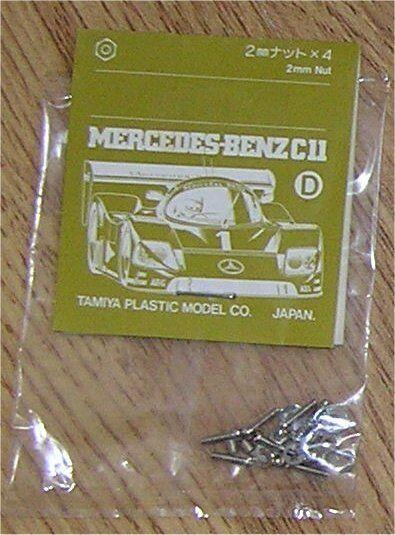 0005387//9005327//19005327 D Parts NEW Tamiya 58088 Mercedes-Benz C11//F40//Group-C