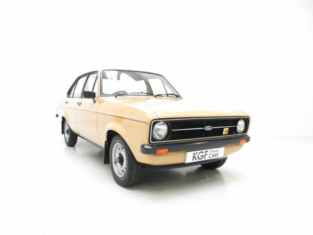 An Extraordinary Ford Escort Mk2 1300 Popular Plus with 20,635 Miles From New