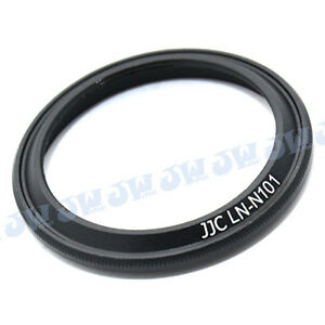 JJC-Metal-Lens-Hood-Shade-for-NIKON-1-Nikkor-10-mm-f-2-8-Lens-Replaces-HN-N101