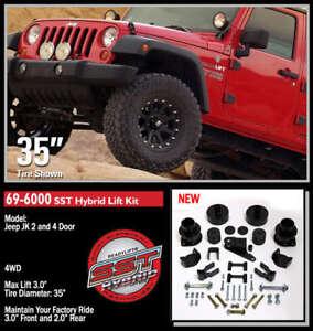 "ReadyLift SST Lift Kit 07-14 Jeep Wrangler JK  3"" F/2"" R 69-6000"