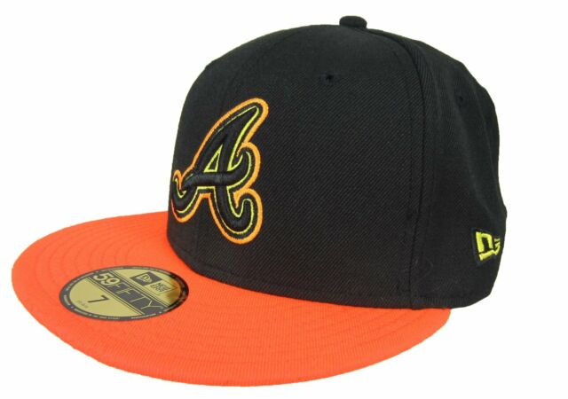 56f89a033b42d New Era 59Fifty MLB Atlanta Braves Fitted Hat NWT