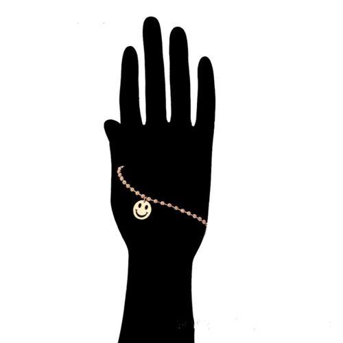 """9ct 9k Rose Gold Filled Girls 0-6 Y Bangle Bracelet Anklet Adjustable 5.9/"""" Gift"""