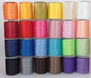 100m-Rolle-Schraegband-Polyester-Satin-15mm-gefalzt-0-12-m-Kantenband