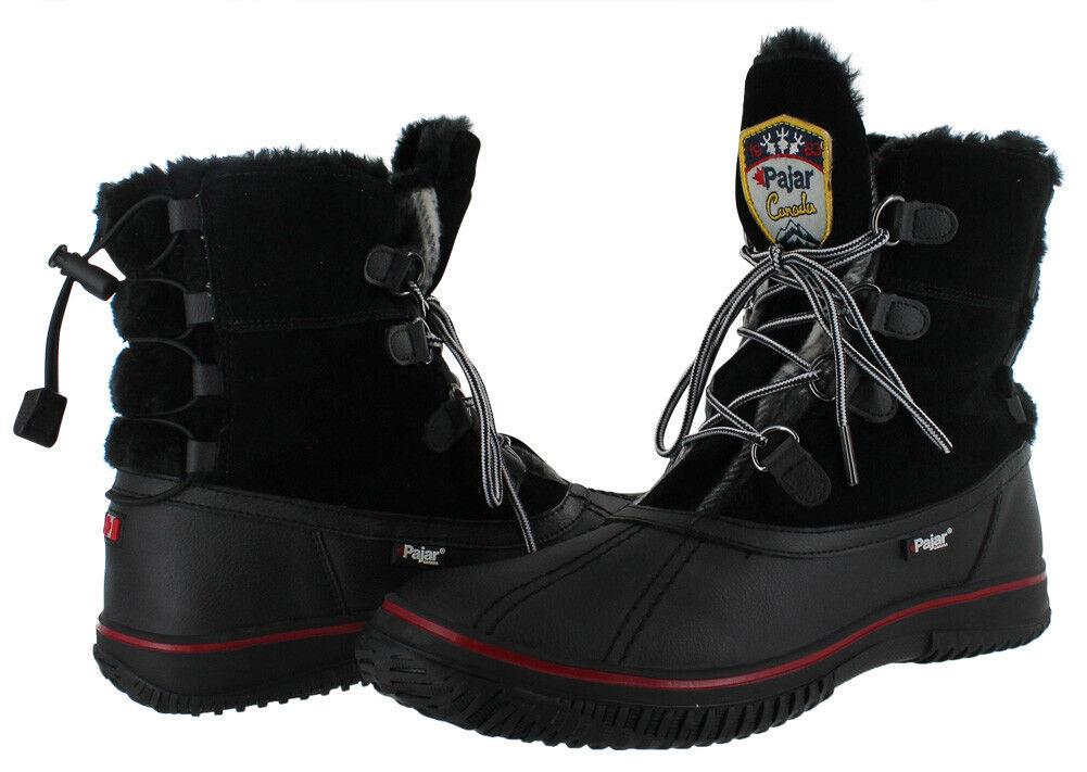 Pajar Women's Iceberg Winter Snow Boots Waterproof Leather Size 7-7,5