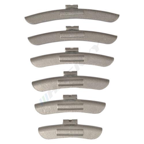 150 pezzi Pesi ZINCO Masserelle di equilibratura acciaio 35g 40g 45g 50g 55g 60g per 25 St