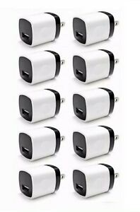 10x-1A-USB-Home-Wall-Charger-Plug-AC-Power-Adapter-For-iPhone-iPod-classic-nano